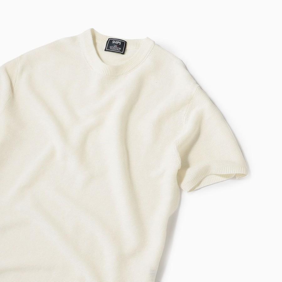 SC: SAFILIN リネン ニット Tシャツ 19SS