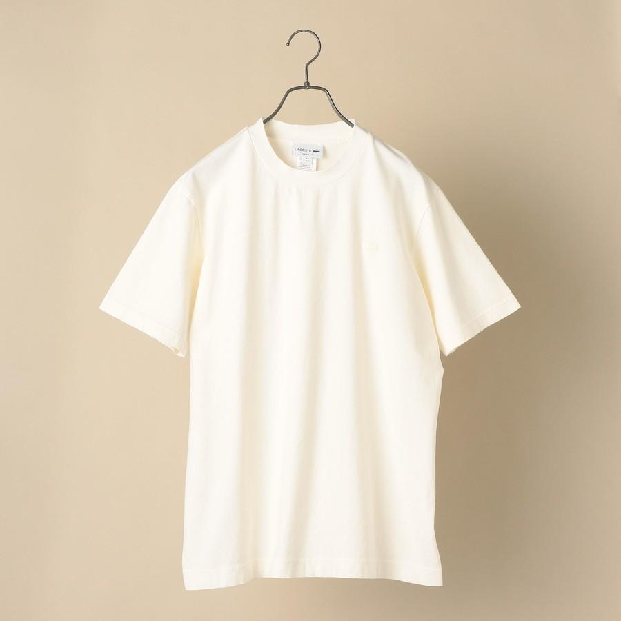 LACOSTE: ボディーサイズ ピグメント Tシャツ TH651EL