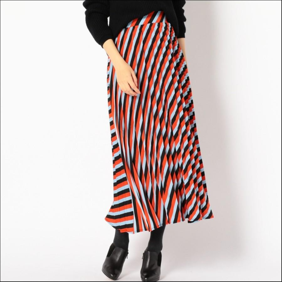 sister jane:PLEATED ストライプスカート
