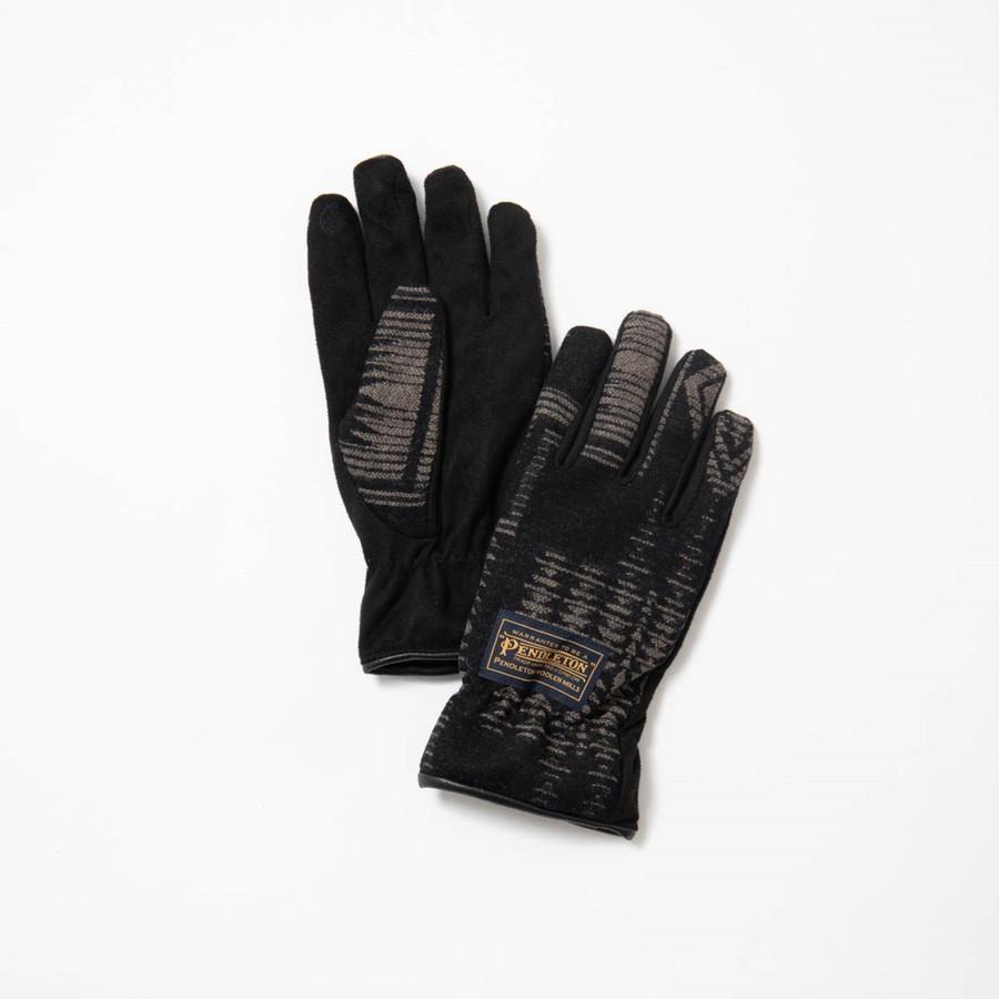 PENDLETON: スマートフォン対応 ネイティブ柄 アソート ジャガード グローブ (手袋)