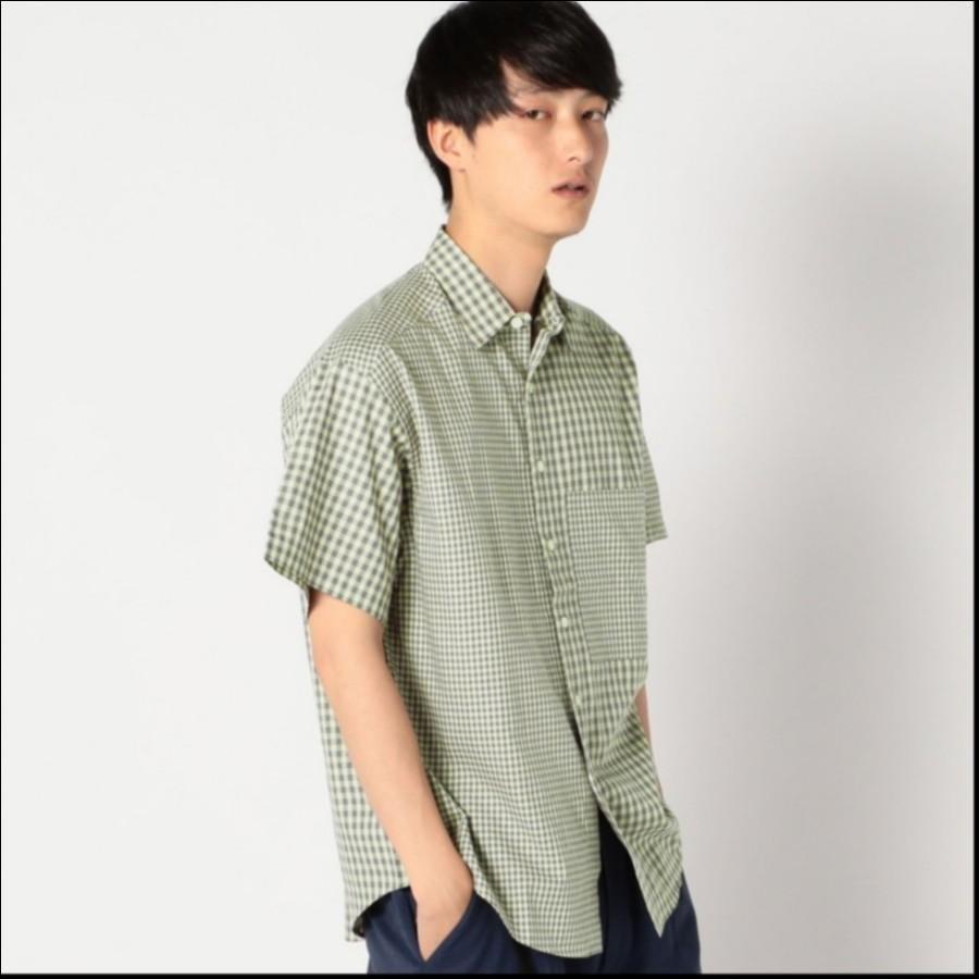 SU: CRAZY ギンガム ビッグ 半袖シャツ