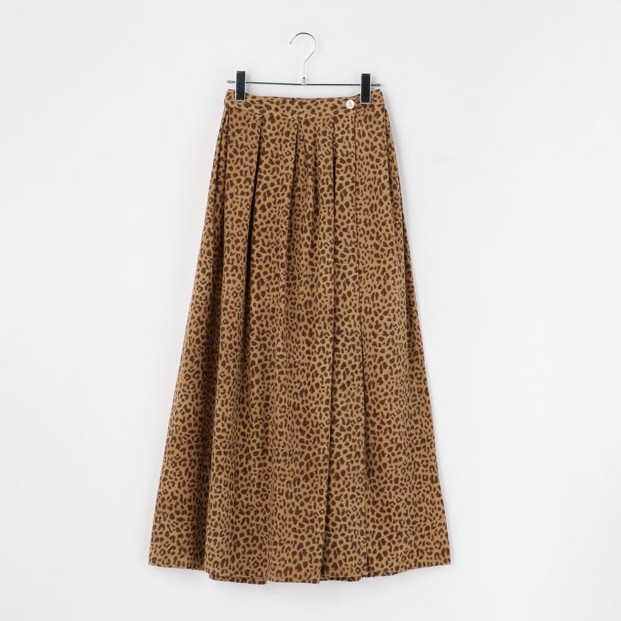 UHURU×Khaju:ラップスカート