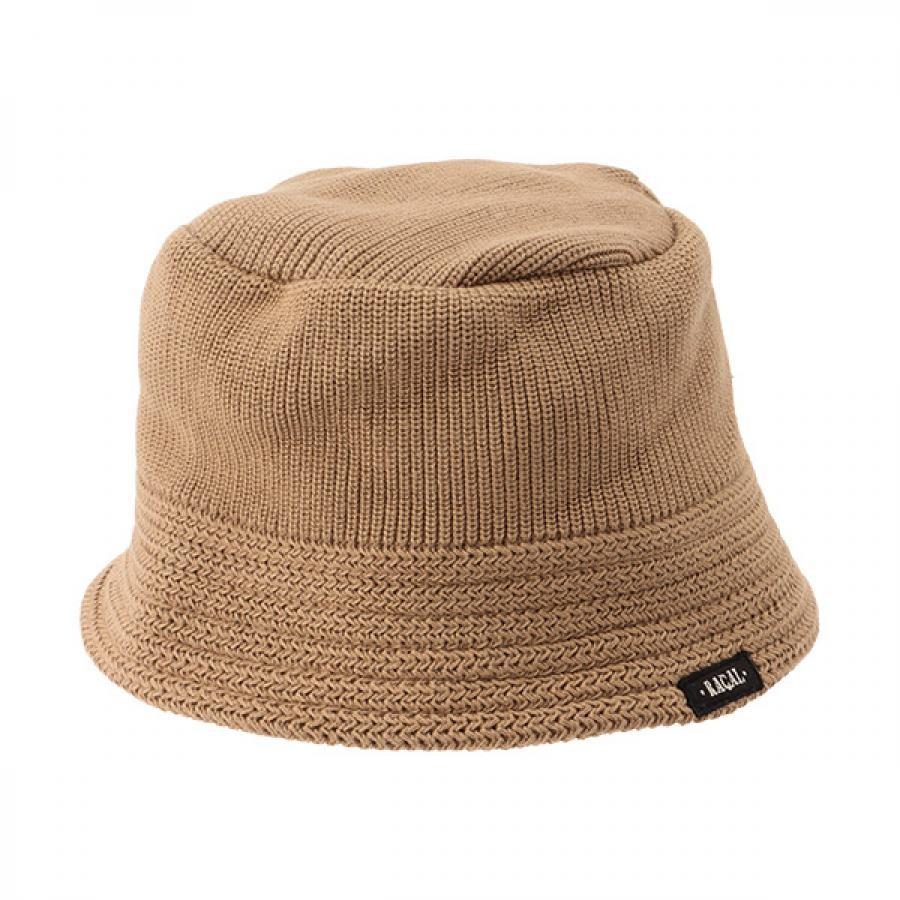 【RACAL】 Cotton Knit Bucket Hat 2 コットンニット バケットハット2 ベージュ RL-21-1169