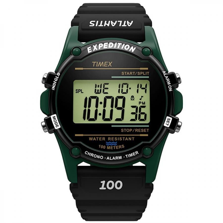 TIMEX タイメックス Atlantis NUPTSE TW2U91800 デジタル 腕時計 メンズ