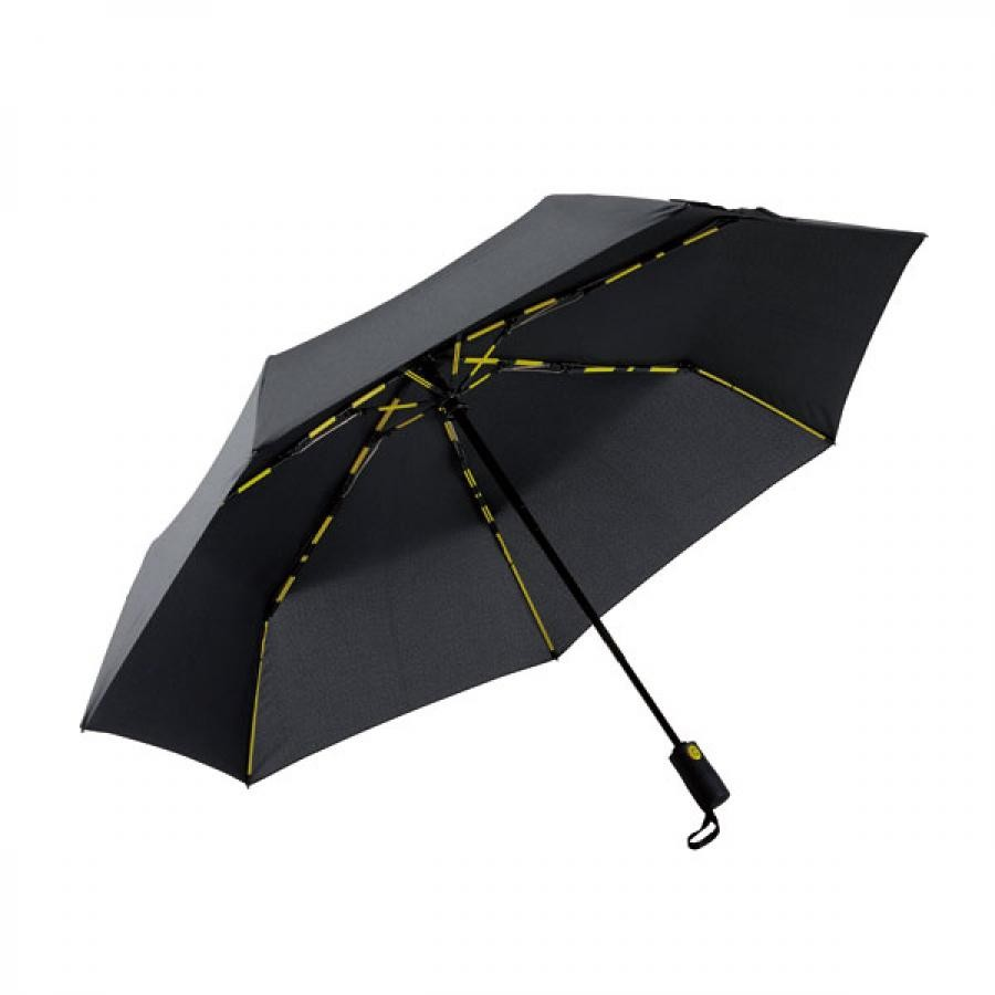 【mabu】 高強度折りたたみ傘 自動開閉 ストレングスミニAUTO EVO ノワール SMV-4122