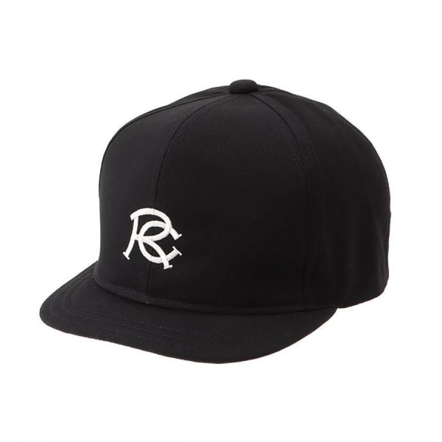 【RACAL】 RC EMB Umpire Cap アンパイアキャップ ブラック RL-21-1170