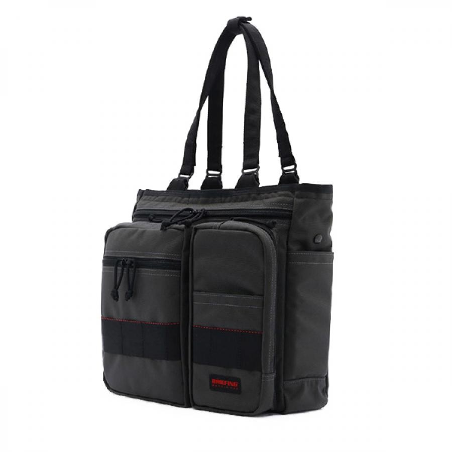 BRIEFING ブリーフィング BS TOTE TALL トート バッグ スティール グレイ BRF300219