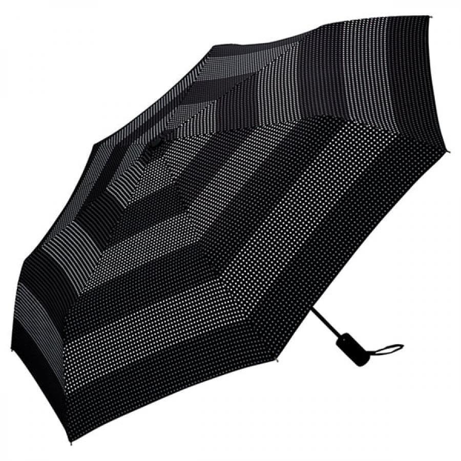 Wpc. ダブルピーシー ASC folding umbrella エーエスシーフォールディングアンブレラ 自動開閉折りたたみ傘 DOT BORDER MINI ドット ボーダー ミニ MSJ-044