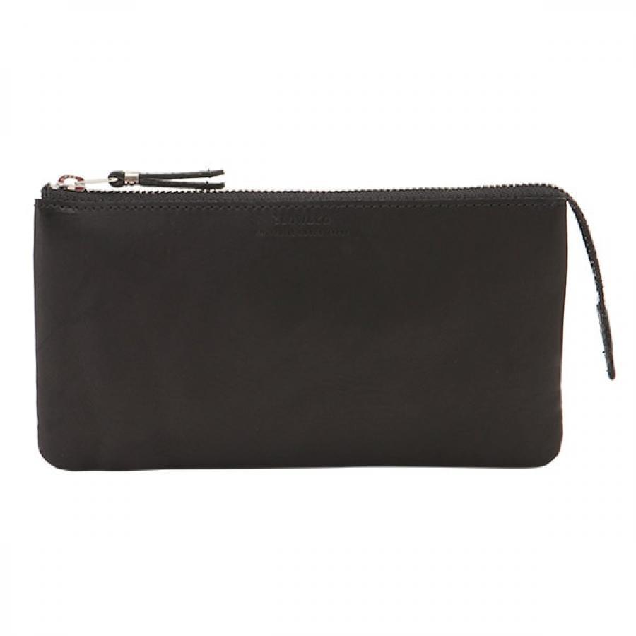 SLOW スロウ vegetal べジタル -utility wallet L- 多用途財布 ブラック 333S86J