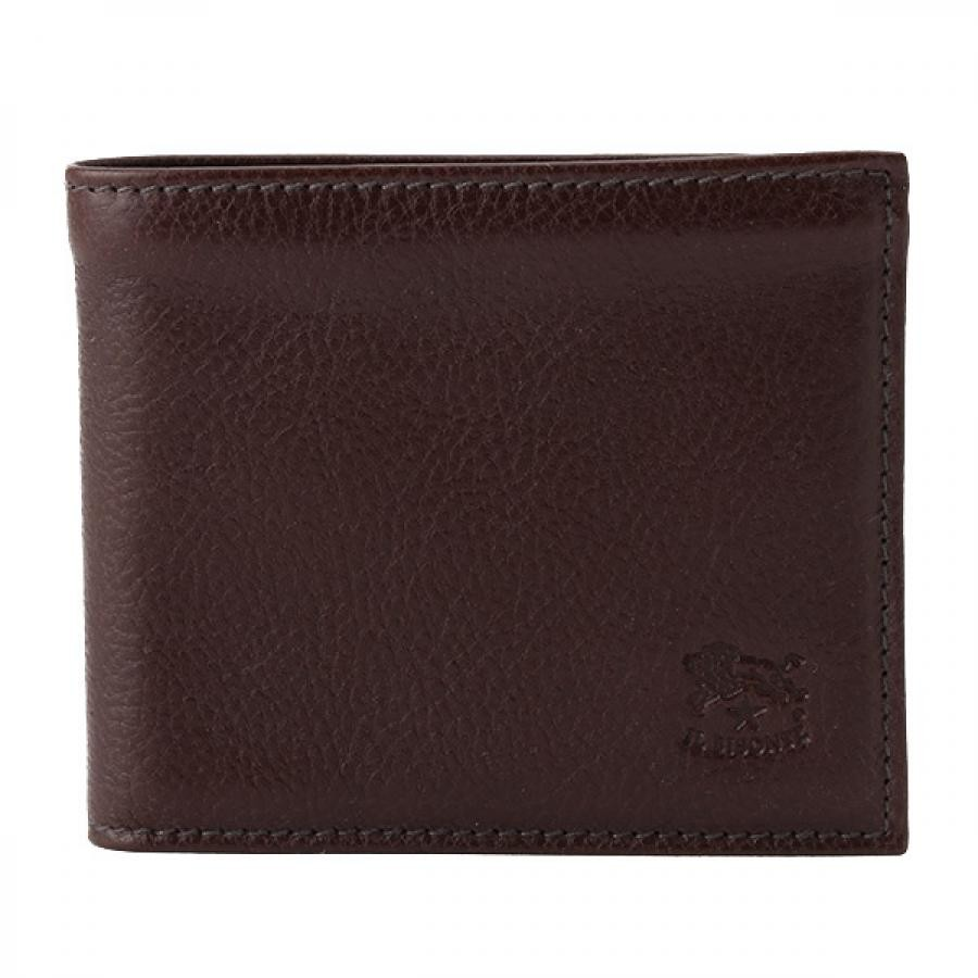 IL BISONTE イルビゾンテ 二つ折り 財布 モカ ダークブラウン C0817 P