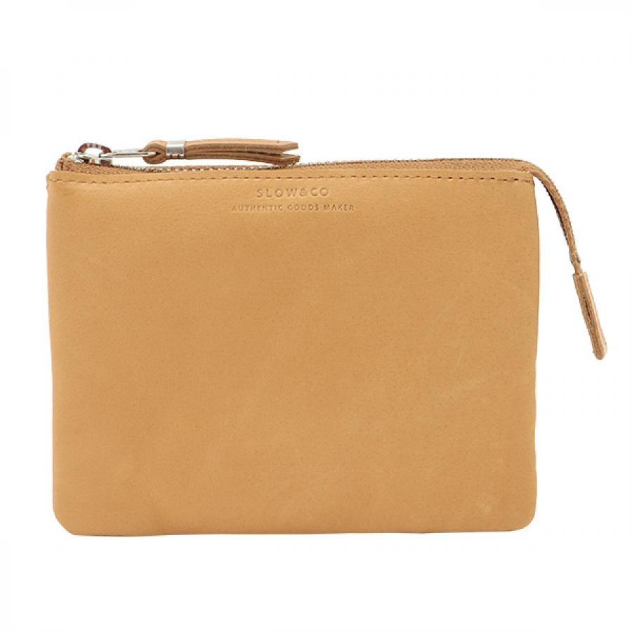 SLOW スロウ vegetal べジタル -utility wallet S- コンパクト財布 ナチュラル 333S87J