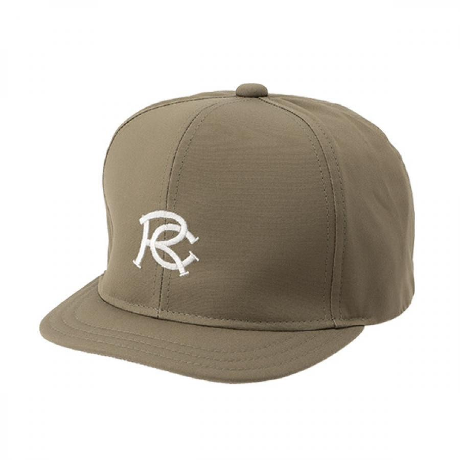 【RACAL】 RC EMB Umpire Cap アンパイアキャップ オリーブ RL-21-1170