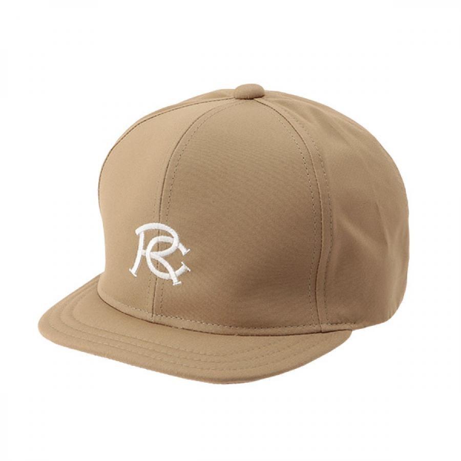 【RACAL】 RC EMB Umpire Cap アンパイアキャップ ベージュ RL-21-1170