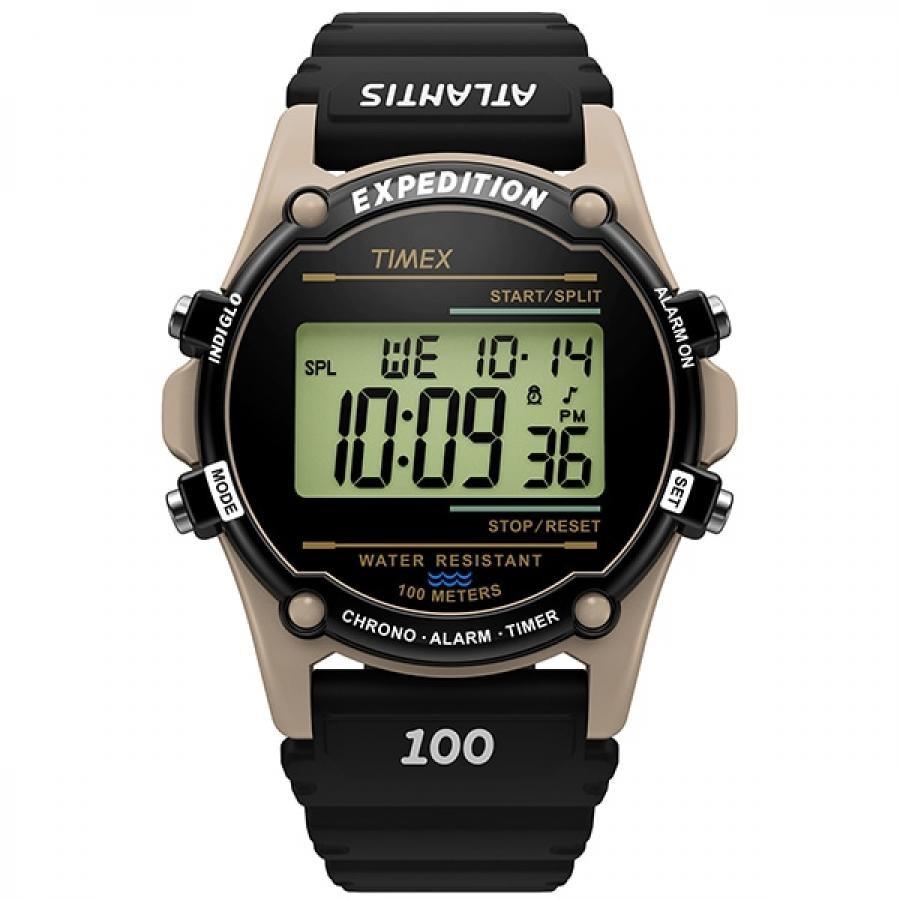 TIMEX タイメックス Atlantis NUPTSE TW2U92000 デジタル 腕時計 メンズ