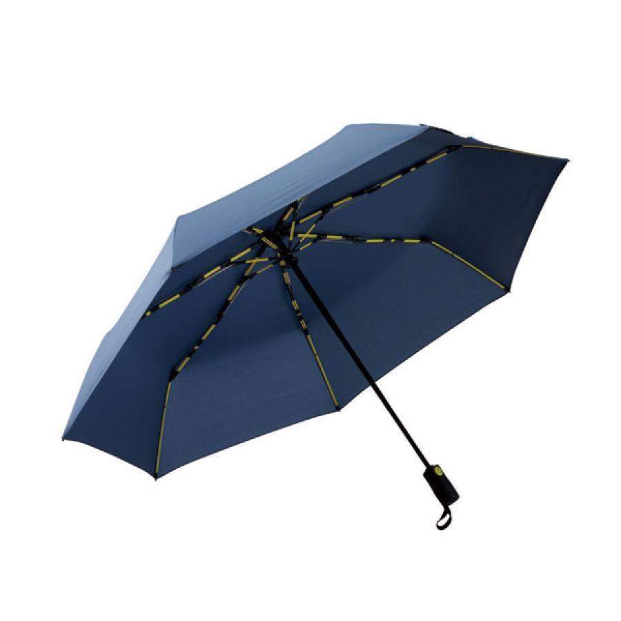 【mabu】 高強度折りたたみ傘 自動開閉 ストレングスミニAUTO EVO インディゴ SMV-4122