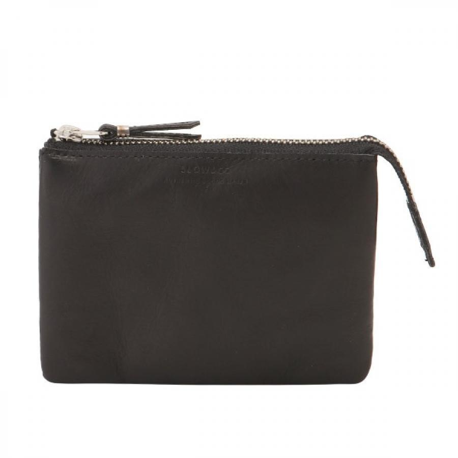 SLOW スロウ vegetal べジタル  -utility wallet S- コンパクト財布 ブラック 333S87J