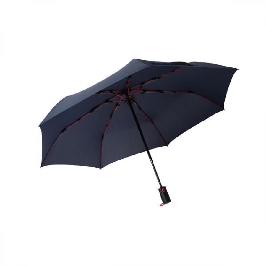 【mabu】 高強度折りたたみ傘 自動開閉 ストレングスミニAUTO plus インディゴ SMV-4106