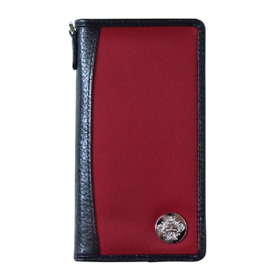 OROBIANCO オロビアンコ CLASSICO iPhone X / XS 専用 手帳型 スマホ アイフォン ケース レッド ORIP-001XS RD