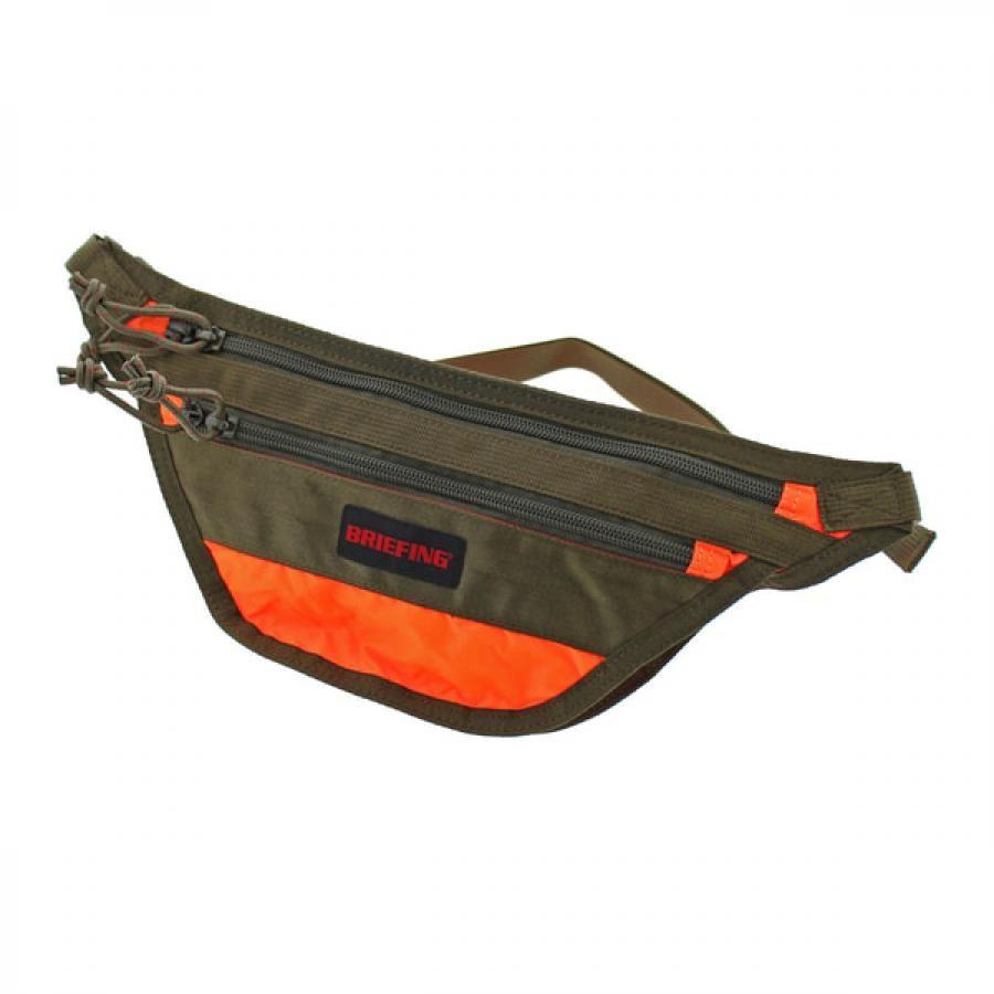 BRIEFING ブリーフィング  TRAVEL SLING SL PACKABLE トラベル スリング エスエル パッカブル ボディバッグ Orange オレンジ BRM183208