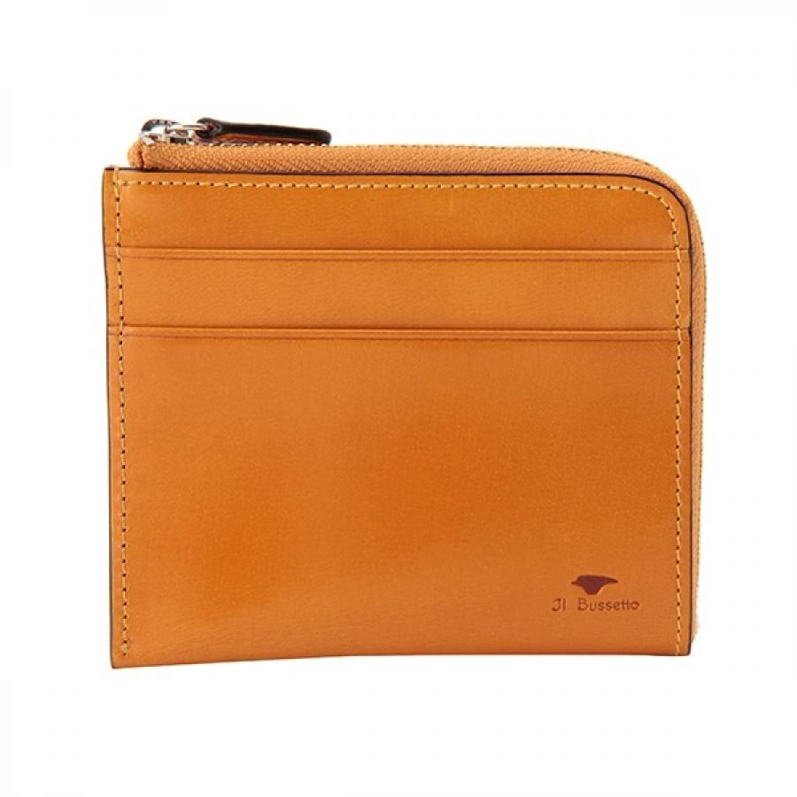 Il Bussetto イル・ブセット L字型ジップ財布 イエロー 7815164YE