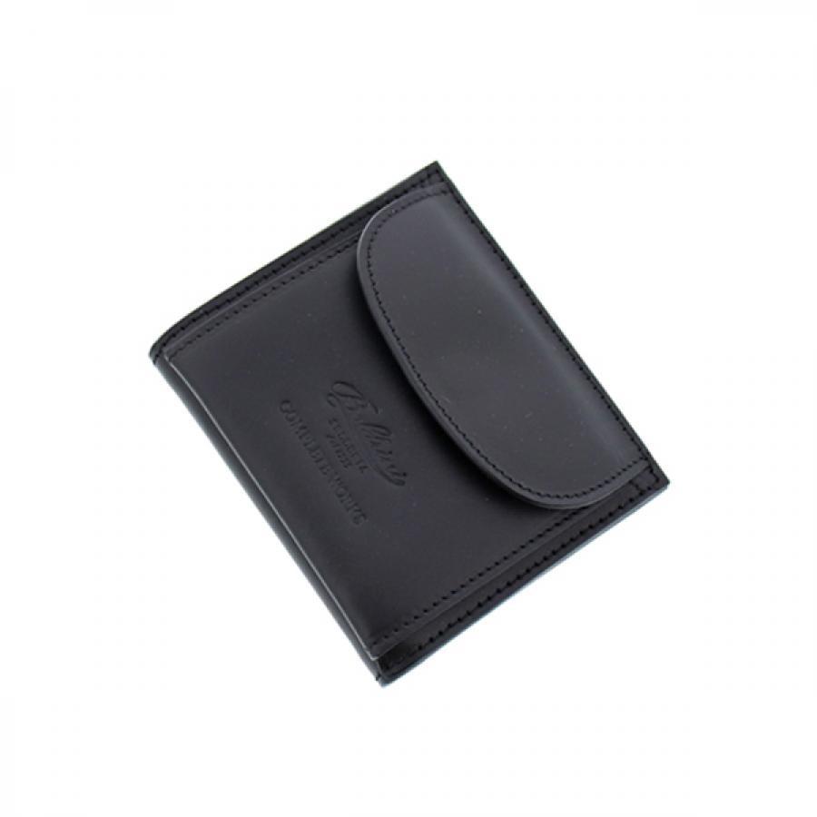 Boldrini ボルドリーニ コレクターズ 別注 二つ折り ミニ スマート 財布  BLACK ブラック  288