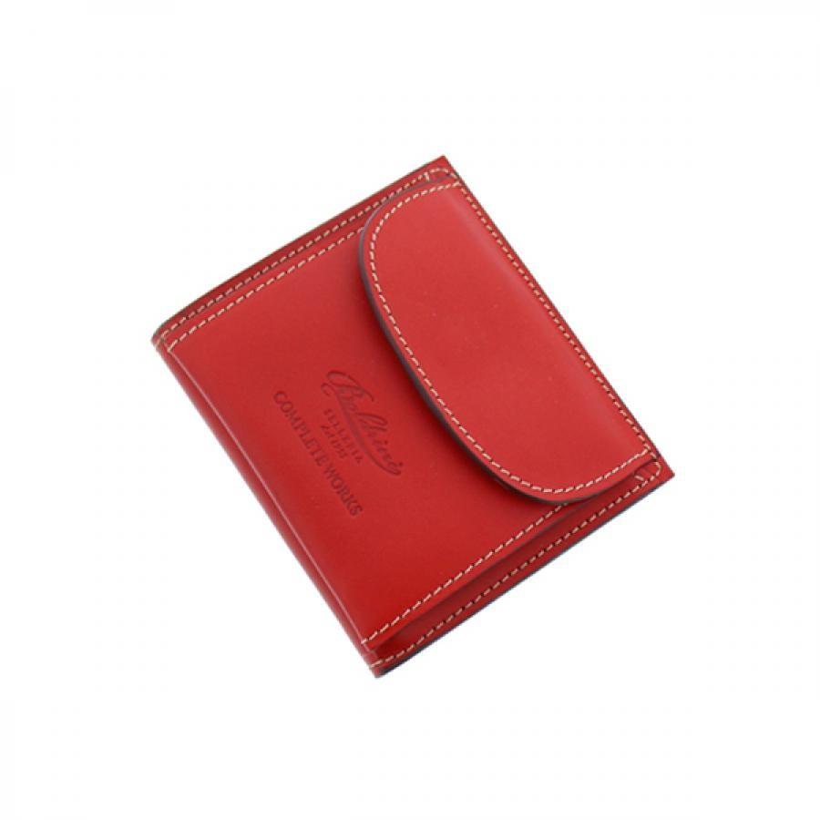 Boldrini ボルドリーニ コレクターズ 別注 二つ折り ミニ スマート 財布  RED レッド  288