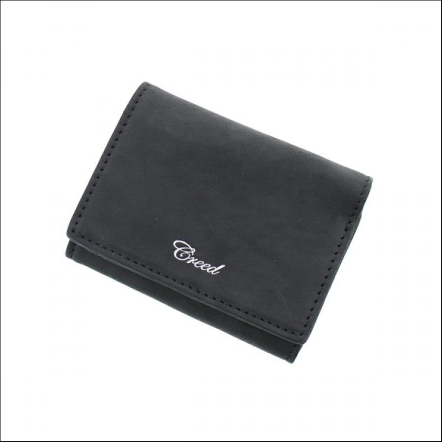CREED(クリード) コレクターズ別注 RUB 3つ折り財布 BK ブラック