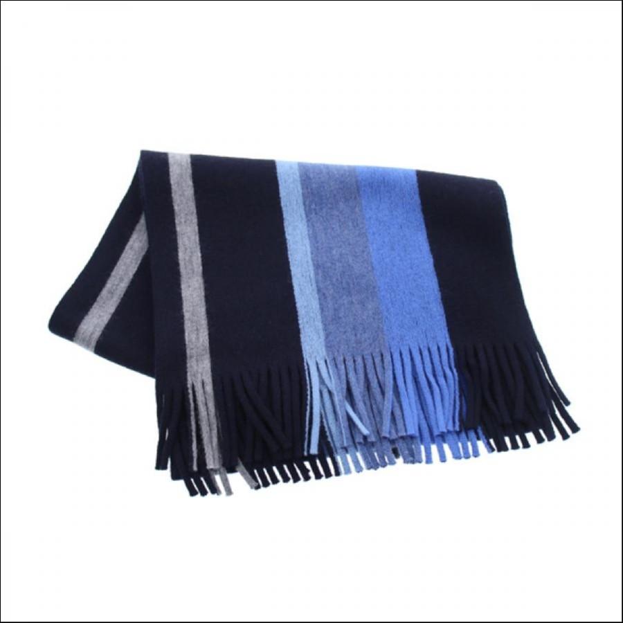 OROBIANCO オロビアンコ マフラー ブルー BLUE  ORSF-8004