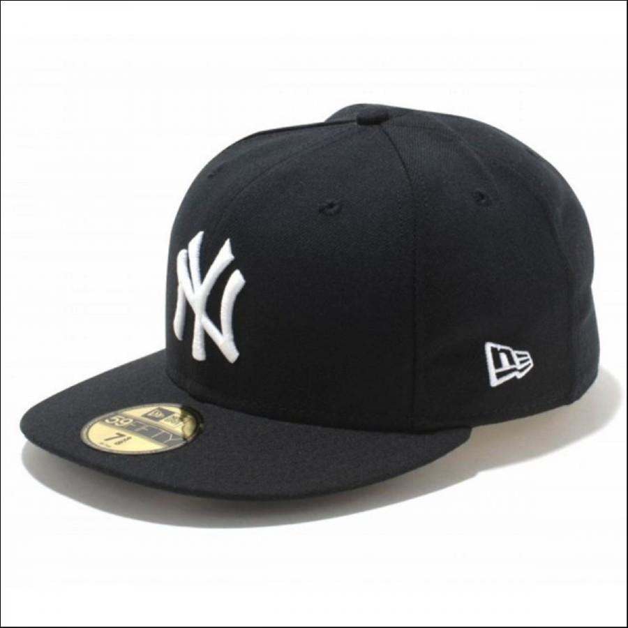 NEW ERA ニューエラ 59FIFTY MLB ニューヨーク・ヤンキース Black/White 11308564-7 3/8