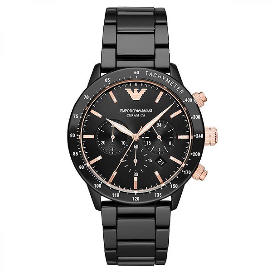 EMPORIO ARMANI エンポリオ アルマーニ  MARIO マリオ セラミック 腕時計 メンズ AR70002