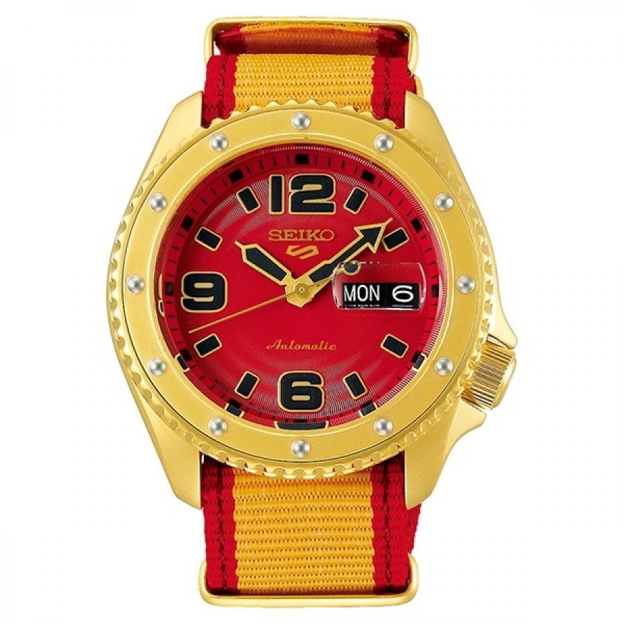 【メンバーズWポイント対象】SEIKO 5 Sports セイコーファイブスポーツ Sense Style センススタイル ストリートファイターVコラボレーション限定モデル 世界9999本限定 ザンギエフ SBSA084 腕時計 メンズ