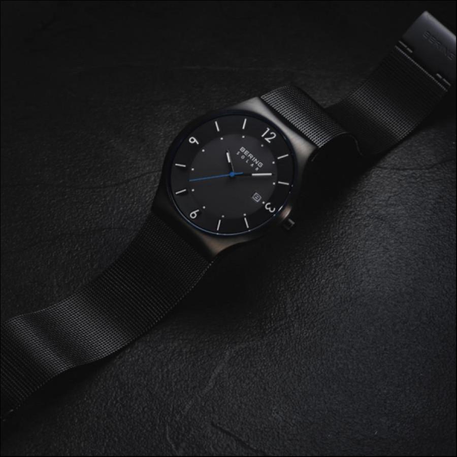 BERING ベーリング Sonderjysk ソナーリュースケ 腕時計 14440-228