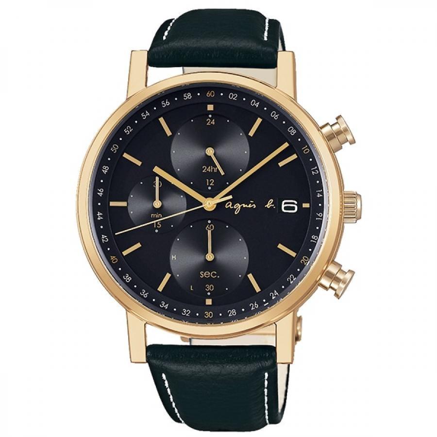 agnes b. アニエスベー SEIKO セイコー FBRD936 オム ソーラー 腕時計 メンズ