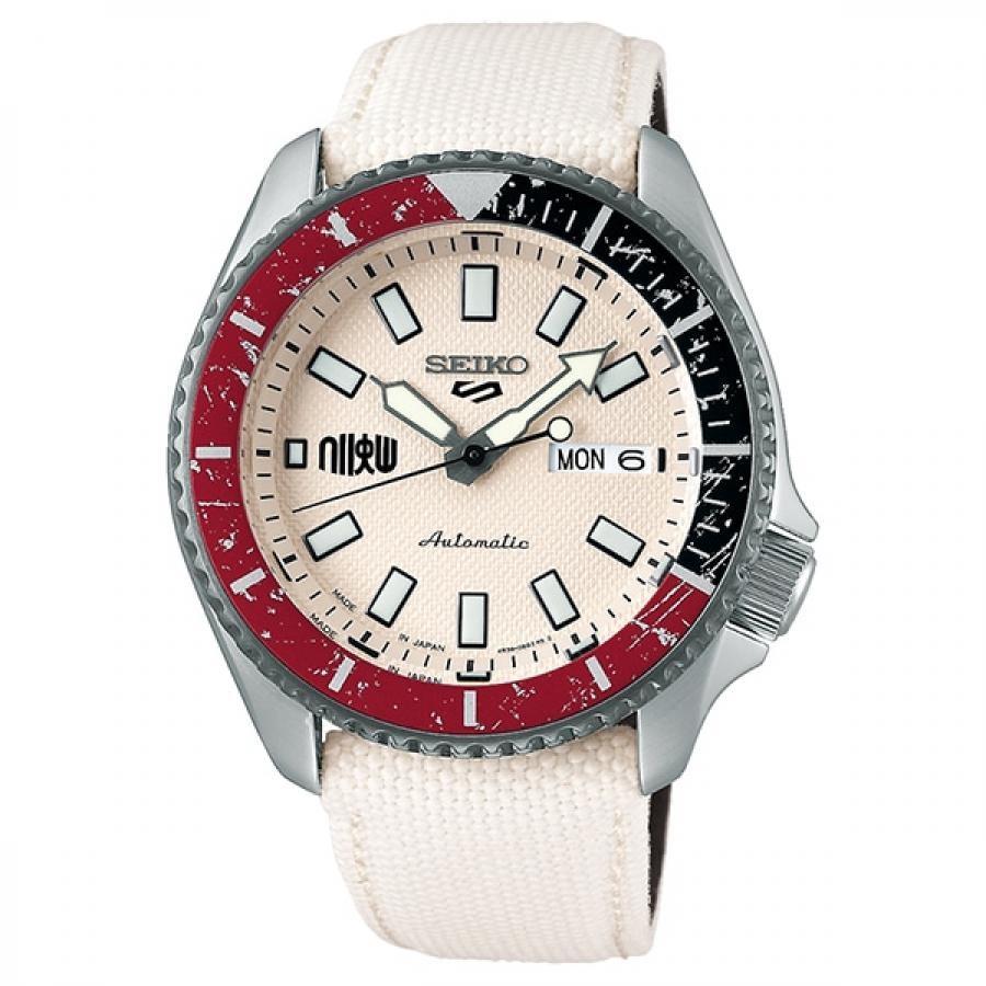 【メンバーズWポイント対象】SEIKO 5 Sports セイコーファイブスポーツ Sense Style センススタイル ストリートファイターVコラボレーション限定モデル 世界9999本限定 リュウ SBSA079 腕時計 メンズ