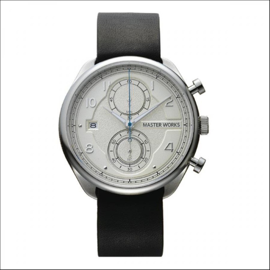 MASTER WORKS マスターワークス Quattro 002 クアトロ クロノグラフ 腕時計 メンズ MW07SI-EDBKG8
