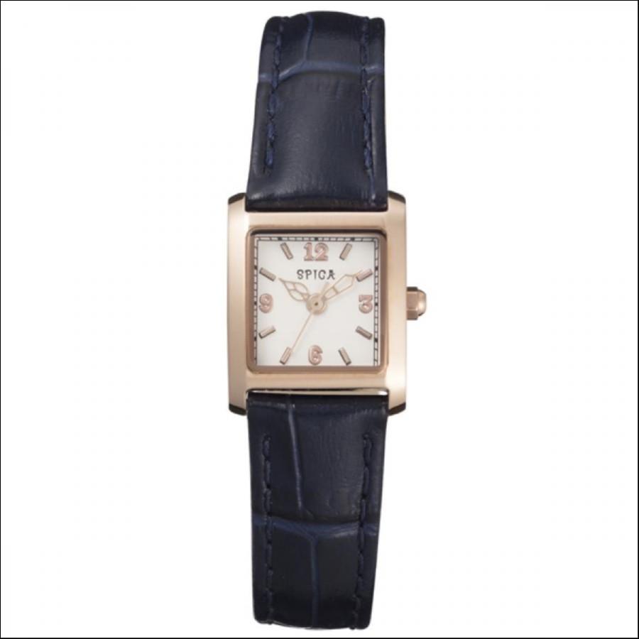 SPICA スピカ Classic Square クラシックスクエア TiCTAC オリジナル腕時計 SPI48-PG/NV