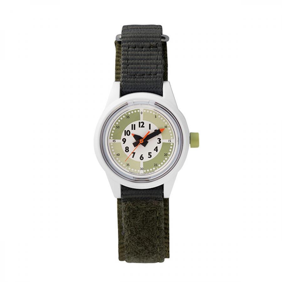 fun pun clock to wear! フンプンクロック Designed by Yoko Dobashi with TiCTAC  Q&Q Smile solar  チックタックオリジナル  ソーラー キッズ  RP29J814