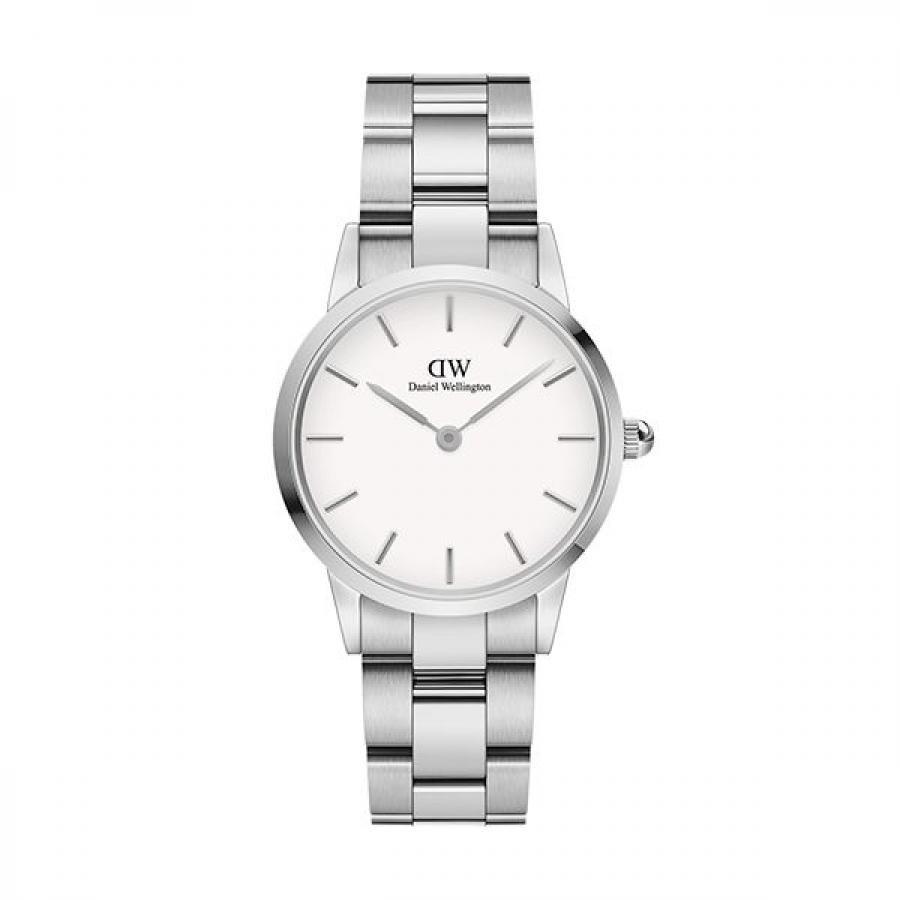 Daniel Wellington ダニエル・ウェリントン ICONIC LINK 28mm Silver White 腕時計 レディース DW00100207