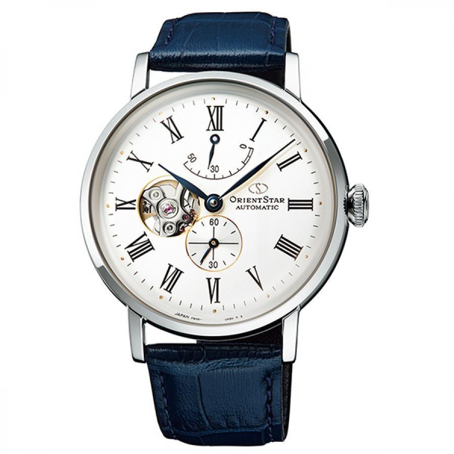 オリエントスター ORIENT STAR 腕時計 メンズ  機械式自動巻 CLASSIC セミスケルトン RK-AV0003S