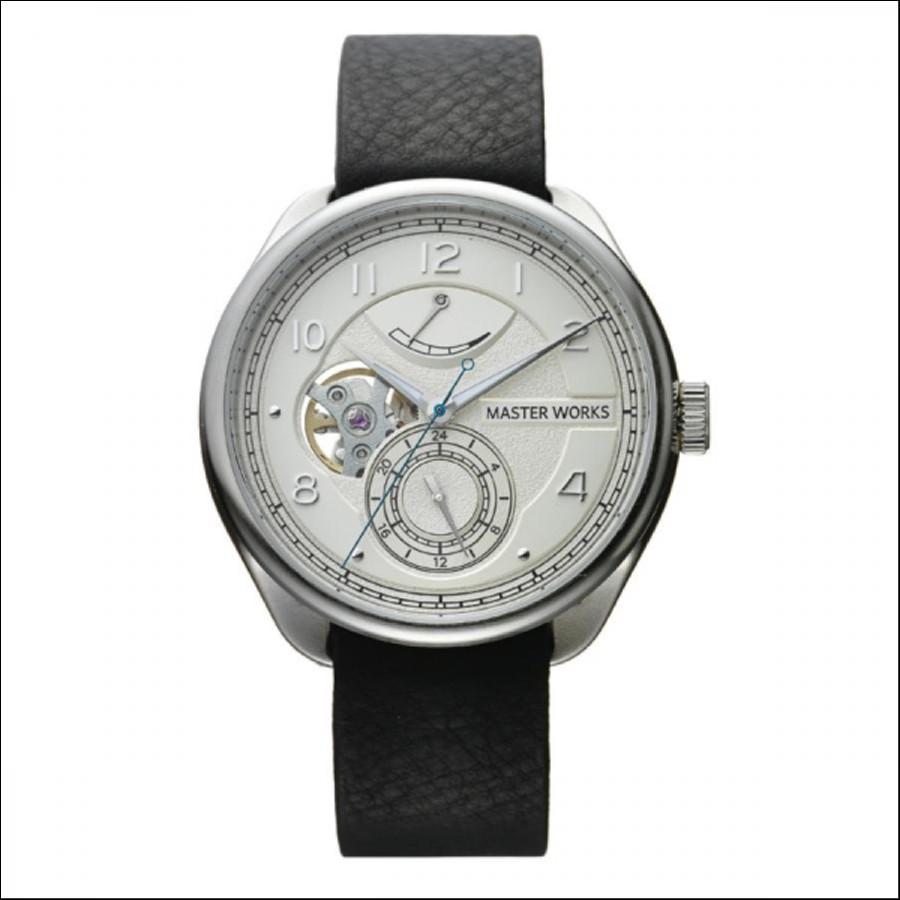 MASTER WORKS マスターワークス Quattro 001 クアトロ 自動巻き 腕時計 メンズ MW08SI-FDBKG8