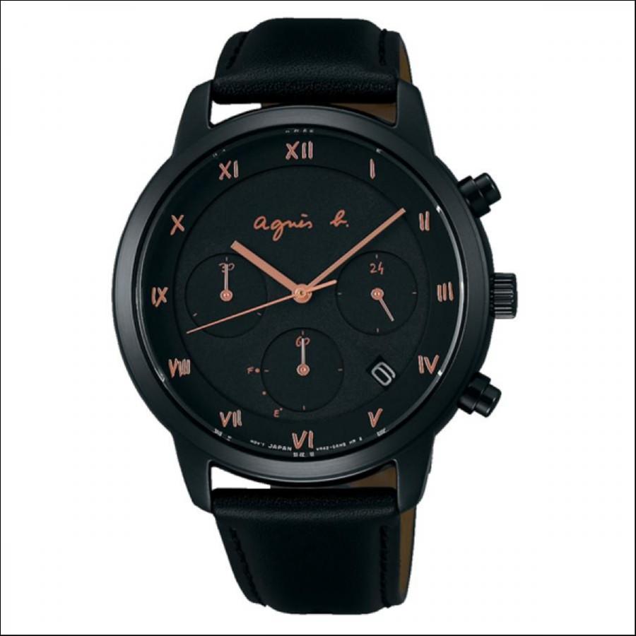 agnes b. アニエスベー Marcello マルチェロ クリスマス限定 1500本限定 腕時計 メンズ FBRD710