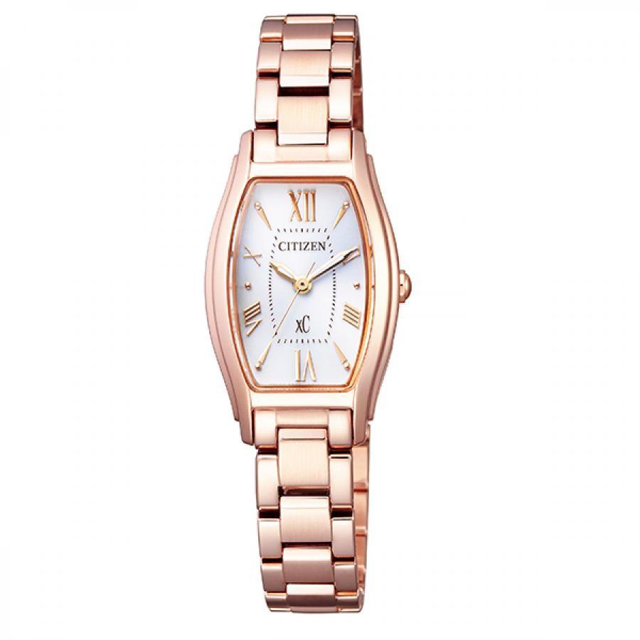 xC クロスシー CITIZEN シチズン エコ・ドライブ電波 角形 腕時計 EW5543-54A