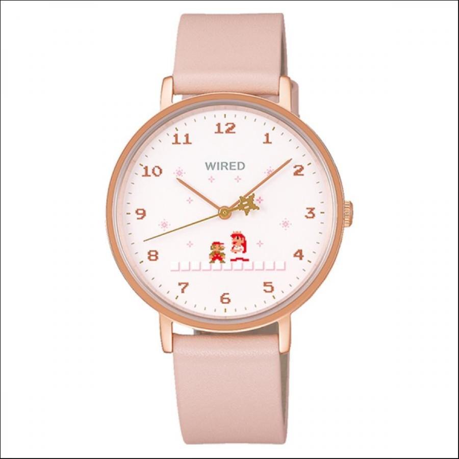 WIRED ワイアード SEIKO セイコ スーパーマリオブラザーズ 1,200本限定モデル 腕時計 AGAK707