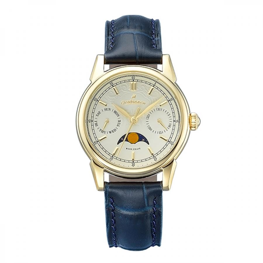 Orobianco オロビアンコ 腕時計 レディス  BIANCONERO ビアンコネーロ  TiCTAC限定 替ベルト付 OR0075-TC1