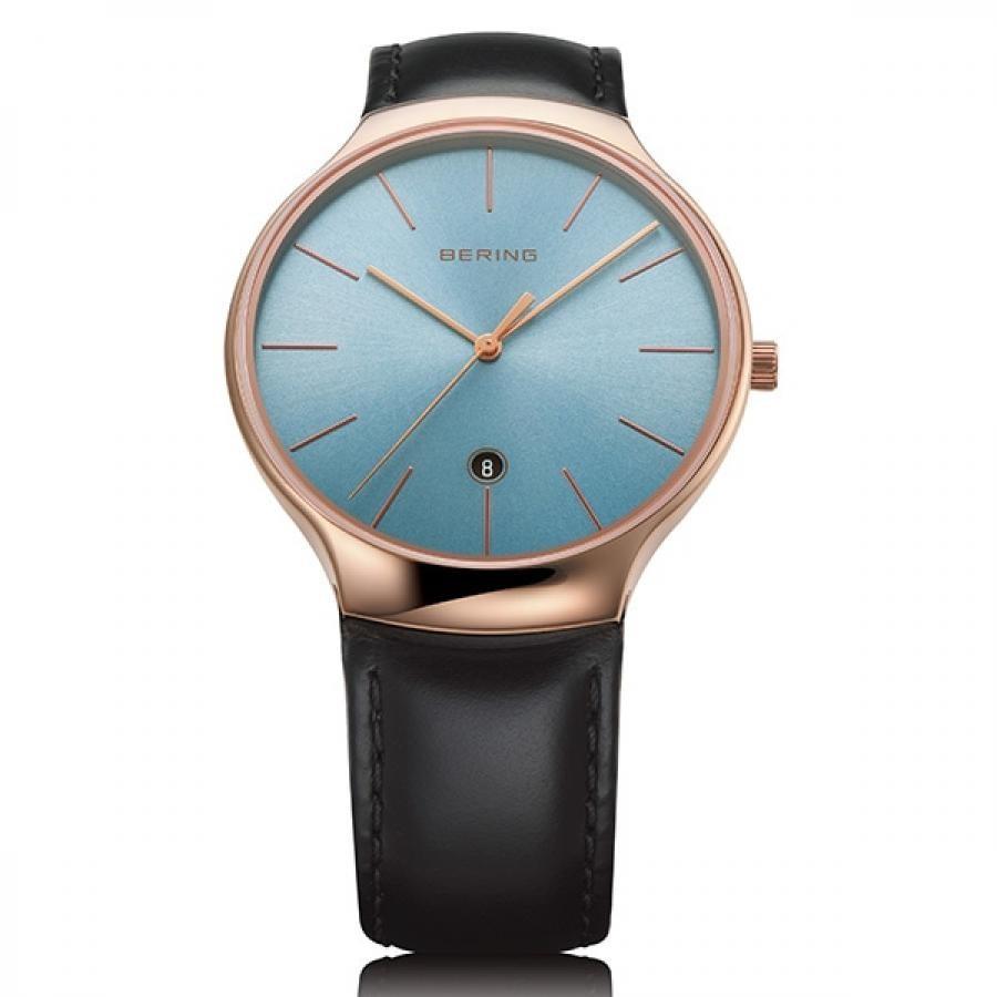 BERING ベーリング Lux Ice Blue ラックス アイス ブルー 13338-468 日本限定モデル ペアウォッチ 腕時計 メンズ