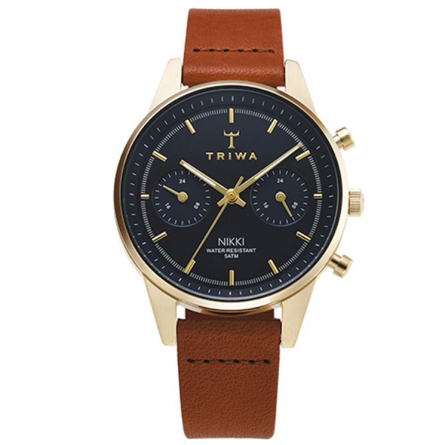 TRIWA トリワ  腕時計  AQUATIC NIKKI BROWN CLASSIC  ネイビー NKST104-SS010217
