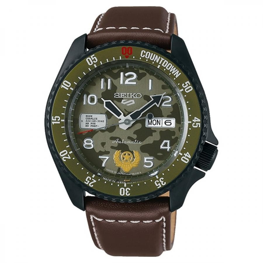 【メンバーズWポイント対象】SEIKO 5 Sports セイコーファイブスポーツ Sense Style センススタイル ストリートファイターVコラボレーション限定モデル 世界9999本限定 ガイル SBSA081 腕時計 メンズ