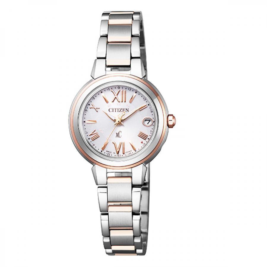 xC クロスシー CITIZEN シチズン ハッピーフライト エコ・ドライブ電波 腕時計 ES9434-53W