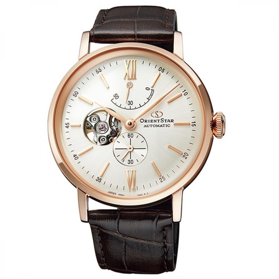オリエントスター ORIENT STAR 腕時計 メンズ  機械式自動巻 CLASSIC セミスケルトン RK-AV0001S