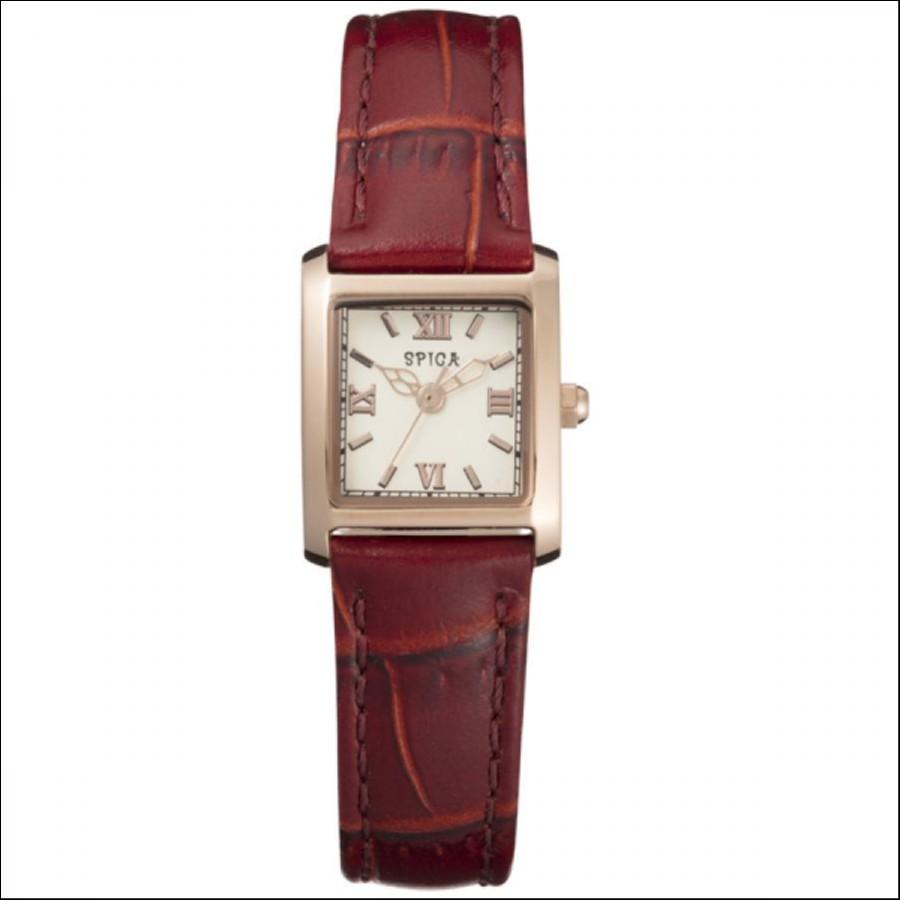 SPICA スピカ Classic Square クラシックスクエア TiCTAC オリジナル腕時計 SPI48-PG/BUR